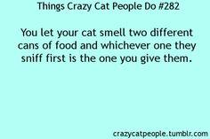 I actually do this!