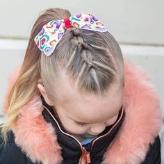 Girl hairstyles 591308626056626245 - 65 young girl's braid hairstyles mother could try for their princess – Page 23 of 32 – Beautrends Source by Beautrends_com Young Girls Hairstyles, Baby Girl Hairstyles, Girl Haircuts, Cute Kids Hairstyles, Toddler Girls Hairstyles, Toddler Hair Dos, Princess Hairstyles, Little Girl Hairdos, Girls Hairdos