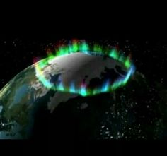 Ring of fire taken by NASA from outer space.