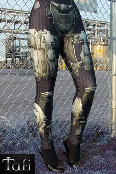 Neu TAFI Halo Spartan Leggings Sci-Fi Body Armor von ToyAndFashion