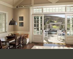 Gast Architects: Projects--Sliding French Doors