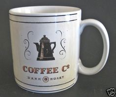 Sakura Coffee Break Coffee Co Dark Roast 12 oz Coffee Mug Angela Stachling.
