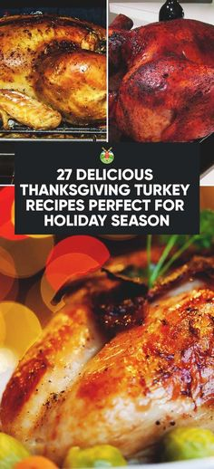 27 Delicious Thanksgiving Turkey Recipes Perfect for Holiday Season Turkey Cutlet Recipes, Roast Turkey Recipes, Leftover Turkey Recipes, Ground Turkey Recipes, Best Thanksgiving Turkey Recipe, Thanksgiving Meal, Turkey Dishes, The Best, Cooking Recipes