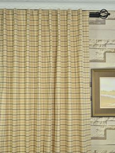 extra wide hudson small plaid back tab curtains 100 inch 120 inch curtains cheery