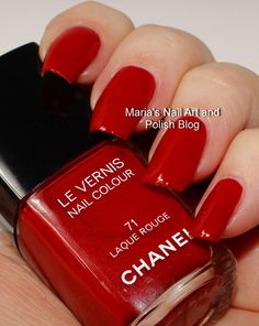 Chanel Rouge Laque Rouge 71 - Les Rouges Cultes de Chanel 2014