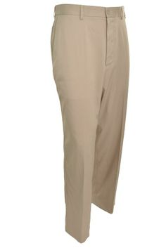 Pebble Beach Mens Performance Golf Pants Dress 40x32 Khaki Moisture Wicking NEW