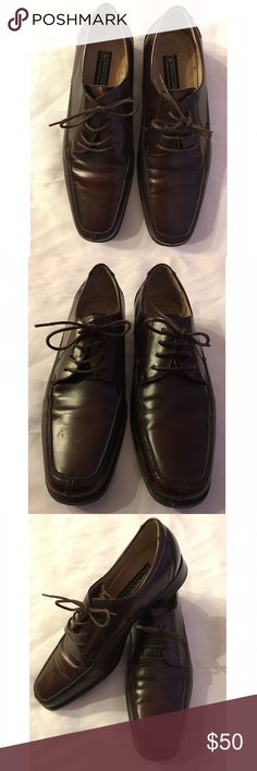 Stacy Adams Black Oxford Dress Shoe Size 13 in 9/10 Condition