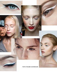 Optical Eyes: White Eyeliner