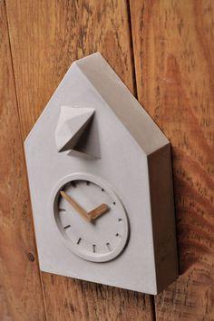 Uhren - BETON KUCKUCKSUHR - ein Designerstück von rehform bei DaWanda