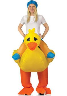 Inflatable Duck Costume  sc 1 st  Pinterest & 27 best Fun Inflatable Costumes for Adults images on Pinterest