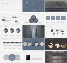 PPT 구경하다보면되게 깔끔한 PPT들 많이 볼 수 있는데요 미니멀하고 깔쌈한 디자인!!나도 그렇게 한... Ppt Design, Powerpoint Design Templates, Brochure Design, Layout Design, Branding Design, Slide Design, Graphic Design, Powerpoint Tips, Creative Powerpoint
