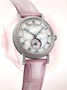 TimeZone : Industry News » N E W M o d e l - Breguet Classique Phase de Lune Dame 9085