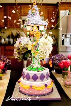 The Party Wagon - Blog - RAPUNZEL PARTY ~ TANGLED-INSPIRED