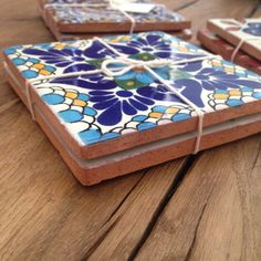 Decorative Tile Coasters Fair Mexican Tile Tribal Tilehousewarescolorfultile Coaster House Review