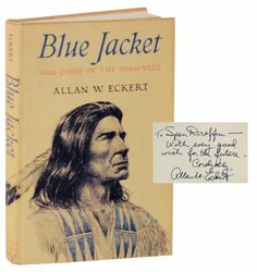 Blue Jacket: War Chief of the Shawnees Signed First Edition ...