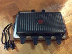 Appareil à Raclette Service avec 8 raclettes