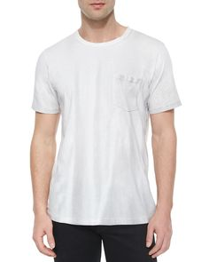 Short-Sleeve Crewneck Tee, White, Size: SMALL - Rag & Bone