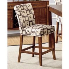 @Overstock.com - Parson Brick Upholstered Pub Stools (Set of 2) - Add modern style to your living space with this upholstered pub stool set. Made with a rubberwood frame and upholstered with polyester, this unique pub stool features an eye-catching square design that incorporates shades of beige, blue, and tan.  http://www.overstock.com/Home-Garden/Parson-Brick-Upholstered-Pub-Stools-Set-of-2/3917782/product.html?CID=214117 $161.99