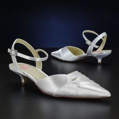 PINK CAMELIA WHITE, IVORY Wedding and Bridesmaids Shoes WHITE, IVORY Bridal Shoes