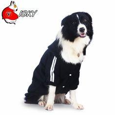 Visky Big Dog Hoodies Costumes Dog Sweatshirts, Winter Warm Dog Sweater Coat Jacket--Black,Medium ** Awesome cat product. Click the image   Cat sweater