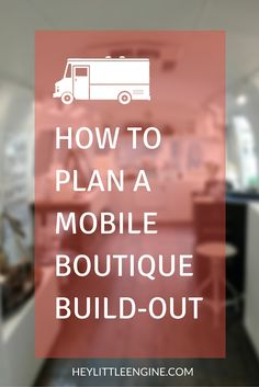 How a Denver-based boutique owner put plans in place to gut and rehab her fashion truck. Find out what went wrong and how you can avoid the same pitfalls. My Boutique, Fashion Boutique, Boutique Ideas, Boutique Decor, Boutique Mobiles, Mobile Beauty Salon, Mobile Nail Salon, Mobile Fashion Truck, Mobile Spa