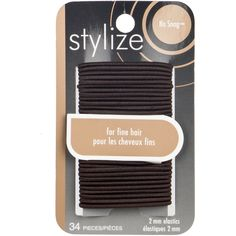 Shop for No Snag Elastics, Brown by Stylize Luxury Beauty, Hair Ties, Hair Accessories, Brown, Shop, Products, Ribbon Hair Ties, Hair Tie, Chocolates