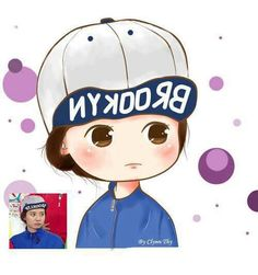 Awwww... Cute cartoon Mong Ji, Song Ji Hyo