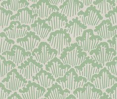 Aranami  Sage Green wallpaper by Farrow & Ball