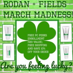 Get started on a Rodan+Fields skin care regimen today with this March Madness deal! You can start your skincare routine that provides results-checkout my website to see for yourself.