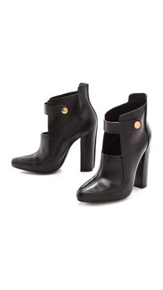 Alexander Wang ankle booties | Minimal + Chic | @CO DE + / F_ORM