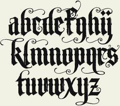 Graffiti Alphabet Fonts