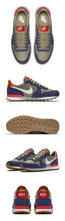 SNKRS of the Week // Travel the world or explore your city — the Nike Internationalist Women's Sneaker is a throwback shoe reimagined for style and comfort. See more streetwear and sneakers Moda Sneakers, Vans Sneakers, Sneakers Fashion, Sneakers Workout, Converse, Chunky Sneakers, Black Sneakers, Platform Sneakers, Roshe Shoes