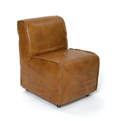 Brown Contemporary Style Baseball Glove Leather Chair. See More. GO Home  Ltd. | Style 11688 $809