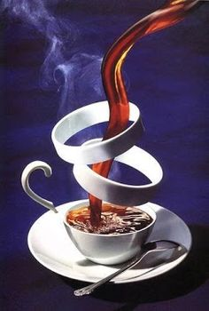 'abstract coffee'... from Marie Bright,Tumblr