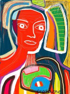 TR-445- Digital painting 30X40 cm Trosdene - 2015 www.trosdene.com