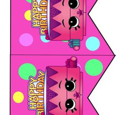 Free Shopkins Birthday Party Banner