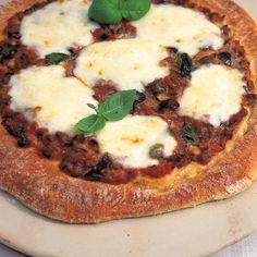 A picture of Delia's Puttanesca Pizza recipe