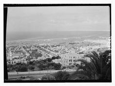 حيفا (غربا)، فلسطين ١٩٣٥ Haifa (to the west), Palestine 1935 Haifa (al oeste), Palestina 1935