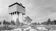 Rauman vesitornista näkee muun muassa Olkiluodon ydinvoimalat