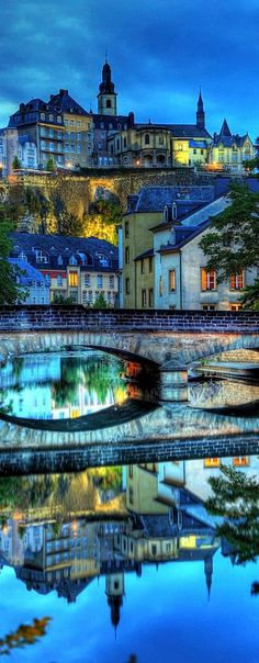What a beautiful scene in Luxembourg City, Luxembourg. Is the tiny country on your European travel to do list? Photo from Marc on Flickr