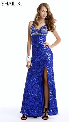 Prom DressesPageant Dresses by SHAIL K. 3344Classy Touch!