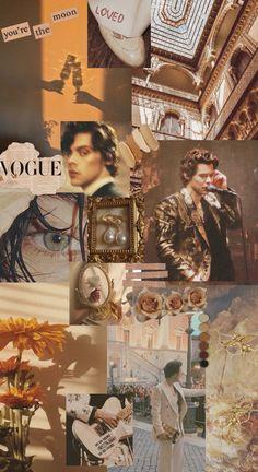 Harry Styles Golden IPhone Wallpaper