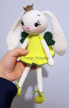 Leithygurumi: Princess Bunny Lemon English Pattern / Prenses Tavşan Limon Türkçe Tarif