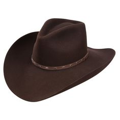 461e4f3331d Resistol Briscoe - (3X) Wool Felt Cowboy Hat