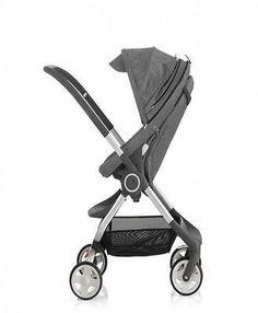 Stokke Scoot Stroller  Black Melange    BRAND NEW IN BOX