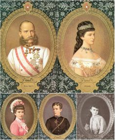 Franz Joseph I. - Elisabeth  Gisela - Rudolf - Marie Valerie