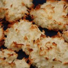 Gemakkelijk te maken kokosmakronen @ allrecipes.nl