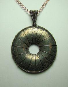 Pyrite doughnut by darkangel-81a.deviantart.com on @deviantART
