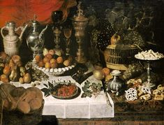 Clara Peeters (Antwerp, 1594–after1657), Still Life, panel, 123x94cm