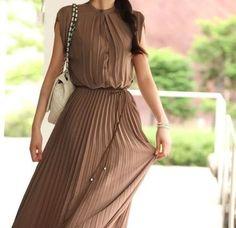 ノースリーブプリーツボヘミアン風ロングドレス♪サイズ豊富